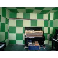 Cinema Polyester Acoustic Panels , Decorative Fireproof Sound Absorption Board
