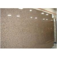 Custom Tropical Brown Granite Floor And Wall Tiles CE Certification
