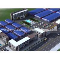 China Light Frame Metal Storage Garage Building / Metal Self Storage Buildings for sale
