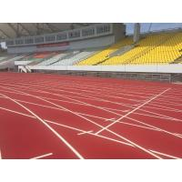 Quality Environment Friendly Rubber Running Track Surface Fireproof Colorful EPDM Pallets for sale