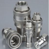Quality ZG1/4 stainless steel 304 hydraulic quick coupler for sale