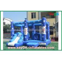 Quality Customized 0.55mm PVC Tarpaulin Inflatable Castle Frozen Obstacle Course For Children for sale