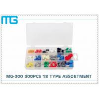 Quality 18 Types Terminal Assortment Kit  MG - 300 300 pcs E TE Disconnects FDD Connectors for sale
