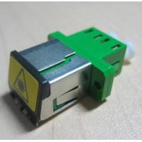 Buy cheap Duplex LC metal shuttered Fiber Optic Adapter single mode or multimode from wholesalers