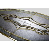 Quality brass decorative glass panel for sale