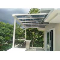 Buy cheap Prefabricated Clear Aluminum Canopy Awnings For Balcony Terrace from wholesalers
