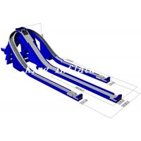 China 71x19.3m Outdoor Giant Inflatable Water Slide For Sale / Trippo Slide on sale