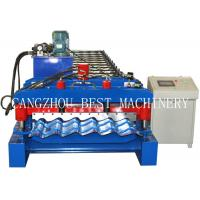Quality 4m/min Glazed Roofing Tile Roll Forming Machine For Roof Building for sale