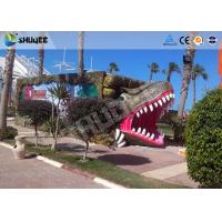 Quality 9 seats Mobile 7D Movie Theater and Vivid Dinosaur Profile More Appealing To Audiences for sale