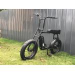 China Mario 48v 500w fat tire retro electric bike for sale