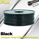 Quality Black  PLA 3d Printer Filament  1.75mm /  3.0mm 1.0 KG / Roll for sale