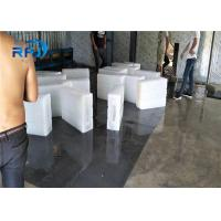 China Durable Industrial Ice Block Maker , Automatic Ice Block Making Machine Air Cooled on sale