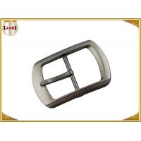 Buy Single Pin Metal Center Bar Replacement Belt Buckles Zinc Alloy Material at wholesale prices