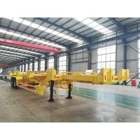 China Leaaf Spring Suspension Terminal Trailer on sale