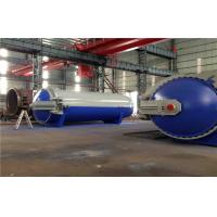 Quality Pneumatic Laminated Vulcanizing Autoclave , Pressure In Autoclave By PLC Controller for sale
