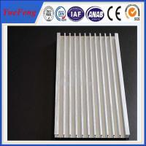 Quality OEM aluminium fin heatsink manufacturer, 21 lines extruded profile aluminum heat sink for sale