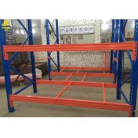 China Warehouse Selective Pallet Racking System , Metal Industrial Pallet Rack Shelving on sale