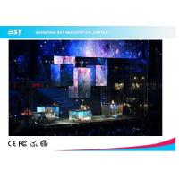 Quality High Resolution P7 Full Color Foldable LED Display with Flexible Curtain Screen for sale