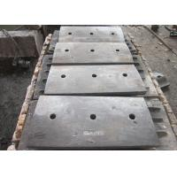 Quality Ni Hard Liners Cast Iron Shell Liners / End Liners Hardness More Than HRC56 for sale