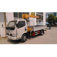 Quality dongfeng small 2.5ton truck mounted crane for sale