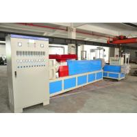 China PE / PP / PET Plastic Granules Making Machine With Force Feeder on sale