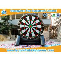 Quality 4MH Single Side Inflatable Score Board Inflatable Football Game For Human for sale