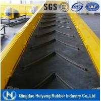 China Low abrasion high tensile strength Heavy Duty Patterned Chevron Conveyor Belt on sale