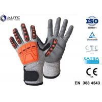 Quality Prosafe Hand Protection Gloves , Nitrile Protective Gloves Shock Absorption for sale