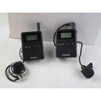 Buy Professional Stereo 008A Wireless Tour Guide Headsets For Visiting CE Approved at wholesale prices