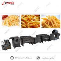 Quality Frozen French Fries Production Line|Automatic French Fries Making Line|Commercial French Fries Processing Line for sale