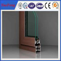Quality china big factory aluminum extrusion for windows and doors frame manufacturer for sale