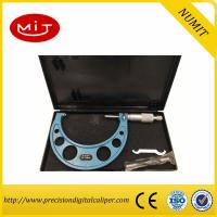 Quality Adjust Digital Outside Micrometer 75-100mm with Interchangeable Anvils for Carbide measuring face and painted frame for sale