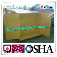 Buy High Performance Flame Proof Industrial Storage Cabinets 30 Gallon Shelf Adjustable at wholesale prices