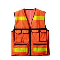 Quality Reflection sports wear high visibility safety vest with OEM service for sale