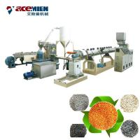 Quality Double Stages PET Pelletizing Machine , Plastic Bottle Granulator Extruder for sale