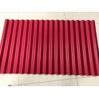 Quality Environmental 3 Layer UPVC Corrugated Sheets Anti Corrision Heat Insulation for sale