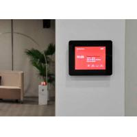 Quality Professional Wall Mount Android POE Touch Screen 2  X 1 Watt Speakers For Intercom for sale