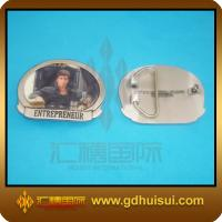 Quality promotional zinc alloy christmas belt buckle for sale