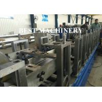 Buy Roofing Downpipe Channel Roll Forming Machine Seamless Square Shape at wholesale prices