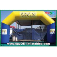 Quality PVC Durable Material Inflatable Arch / Inflatable Finish Line for sale