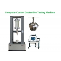 China Computer Control Geotextile Testing Machine For Widewidth Tensile Grab Test on sale