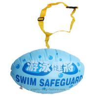 Quality Lovely Blue Swim Safety Buoy Dual Inflatable Chambers For Swimming Pools for sale