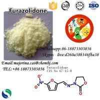 Quality Furazolidone Antibacterial Agents Antimicrobial Fungicide for Anti - Infective Drugs CAS: 67-45-8 for sale