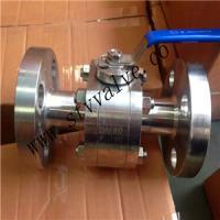 Quality 2 PCS 150lb Forged Steel Flanged Ball Valve Ball Valve for sale