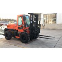 Buy cheap 3.5ton Mini Rough Terrain Forklift , All Terrain Pallet Forklift Truck from wholesalers