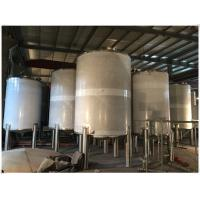 Quality Stainless Steel LPG / Oxygen / Nitrogen Gas Storage Tank For Pharmaceutical Use for sale