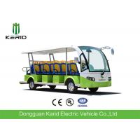 China 72V Low Speed Electric Sightseeing Car 14 Passengers Electric Personal Transport Vehicle on sale