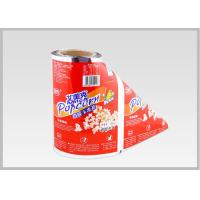 Quality Automatic Packing Plastic Roll Film Color Aluminum Foil Laminated , Non - Polluting for sale