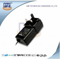 Quality Black Switching Adapter 12v , GME Power Adapter UK Plug 47Hz - 63Hz for sale