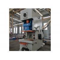 Quality Single Action Eccentric Press Machine / Mechanical Power Press Machine for sale